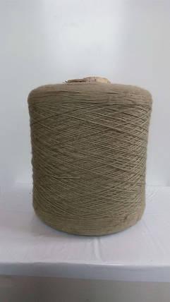 Нитки для оверлока ковров зеленая болотная, фото 2