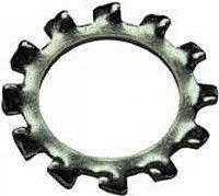 Шайба стопорная нержавеющая с наружными зубьями Ø 10, DIN 6798A, ГОСТ10463-81