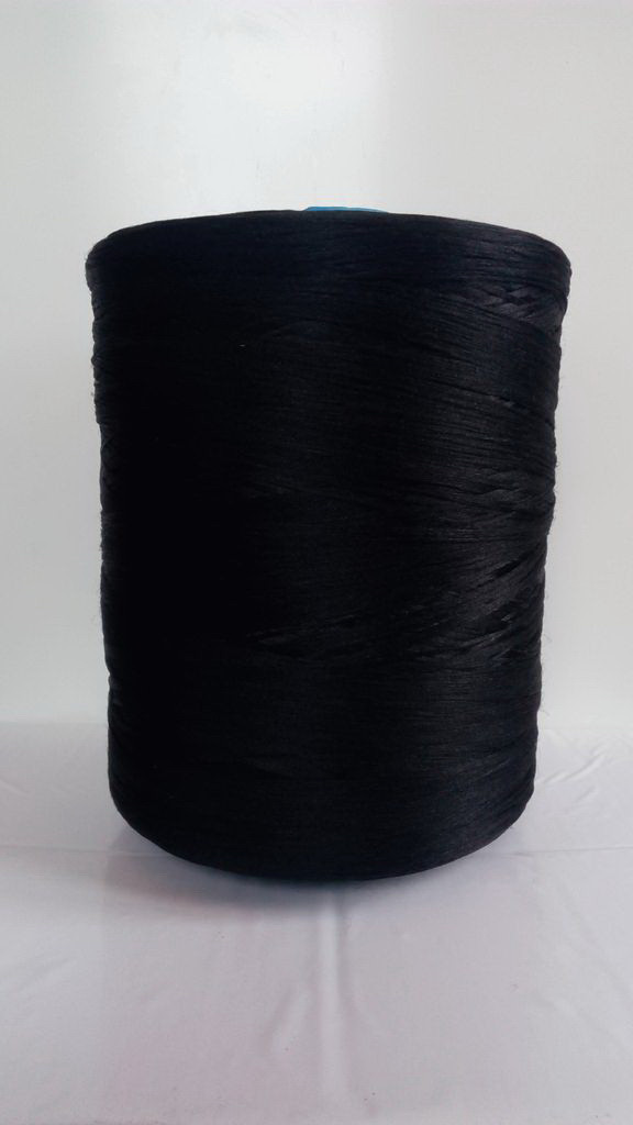 Нить для коврового оверлока черная