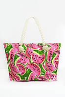 Пляжная сумка Капрун розовая
