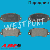 Тормозные колодки ABE Передние Дисковые С датчиком износа C1F011ABE