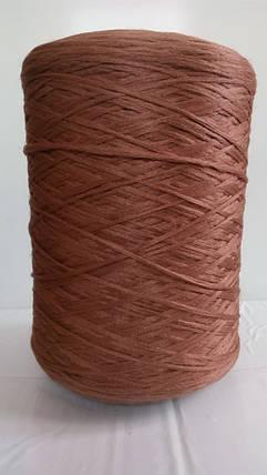 Нить для оверлока ковролина коричневая 7, фото 2