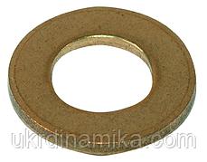 Шайбы плоские латунные М5 DIN 125, фото 2