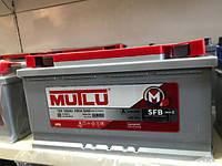 Аккумулятор автомобильный 6CT-100 Aз Eв Silver Mutlu SFB (950)