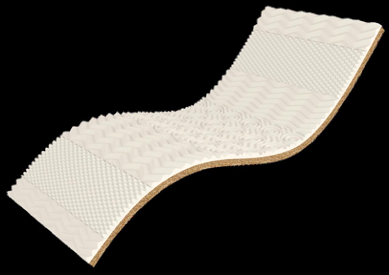 ✅ Ортопедический матрас  White Kokos 70x190 см. Take&Go Bamboo