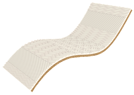 ✅ Ортопедический матрас  White Kokos 70x190 см. Take&Go Bamboo, фото 2