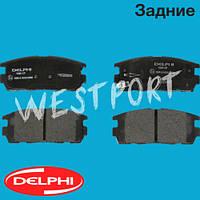 Тормозные колодки Delphi Opel ANTARA Chevrolet CAPTIVA Задние Дисковые Под датчик износа LP1988