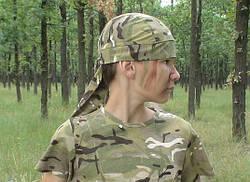 Комплект комбинезон бандана футболка камуфляж Мультикам Тропик, фото 3