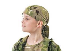 Комплект комбинезон бандана футболка камуфляж Мультикам Тропик, фото 2