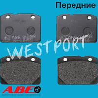 Тормозные колодки ABE Передние Дисковые Без датчика износа C1L003ABE