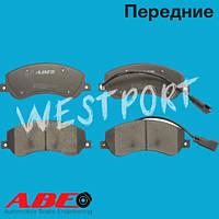 Тормозные колодки ABE Ford TRANSIT Передние Дисковые С датчиком износа C1G060ABE
