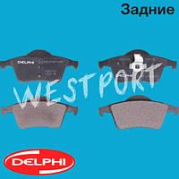 Тормозные колодки Delphi Задние Дисковые Без датчика износа LP1504