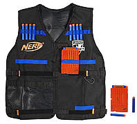 Жилет агента Hasbro Nerf со стрелами и обоймами (A0250)