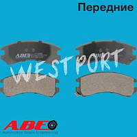 Тормозные колодки ABE Nissan SKYLINE Nissan 180 SX Передние Дисковые С датчиком износа C11035ABE