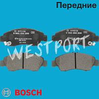 Тормозные колодки Bosch Honda JAZZ Honda LOGO Honda CIVIC Передние Дисковые Под датчик износа 0 986 494 299
