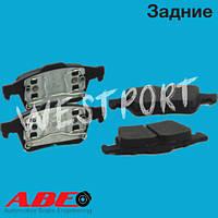 Тормозные колодки ABE Nissan PRIMERA Задние Дисковые Без датчика износа C21041ABE