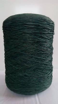 Нить для оверлока ковров меланж темно-зеленый, фото 2
