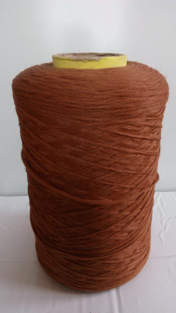 Нитки для коврового оверлока коричневые 8