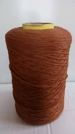 Нитки для коврового оверлока коричневые 8, фото 2