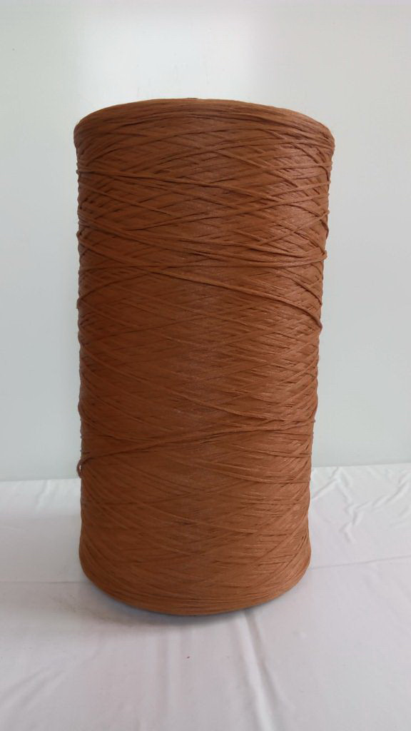 Нитки для коврового оверлока коричневые 9