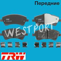 Тормозные колодки TRW Toyota COROLLA Toyota VERSO Toyota AVENSIS Toyota AURIS Передние Дисковые Со звуком износа GDB3479