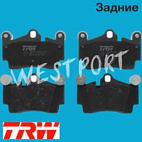 Тормозные колодки TRW Volkswagen TOUAREG Audi Q7 Задние Дисковые Без датчика износа GDB1653