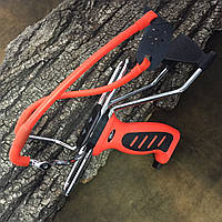 Рогатка Man Kung MK-SL06O з упором ц:оранж.