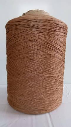 Нитки для коврового оверлока светло-коричневая 2, фото 2