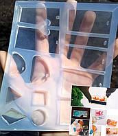 Прозрачный уникальной мягкости силикон для форм ЭЛАСТОЛЮКС Платинум 10, фото 1