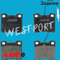 Тормозные колодки ABE Peugeot 406 Peugeot 605 Peugeot 607 Задние Дисковые Без датчика износа C2P002ABE