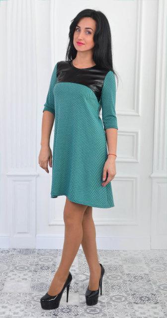 Красивое повседневное  платье (размер 44-50)