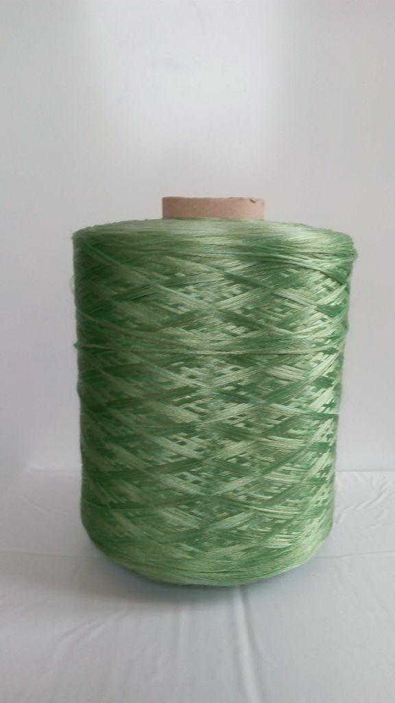 Нитки для килимового оверлока світло-зелені 3