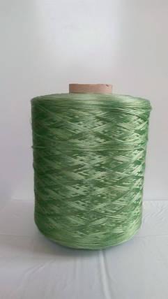 Нитки для коврового оверлока светло-зеленые 3, фото 2