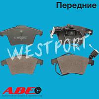 Тормозные колодки ABE Volkswagen TOUAREG Передние Дисковые Под датчик износа C1W062ABE