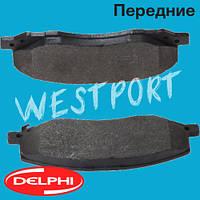Тормозные колодки Delphi Honda CIVIC Opel INSIGNIA Передние Дисковые Под датчик износа LP2082