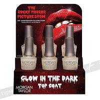 Матирующее верхнее покрытие Glow In The Dark Top Coat Dispaly 6 pc. 15 мл.