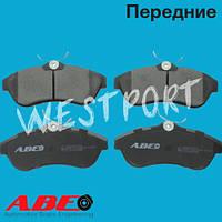 Тормозные колодки ABE Citroen C3 Citroen C2 Передние Дисковые Без датчика износа C1C063ABE