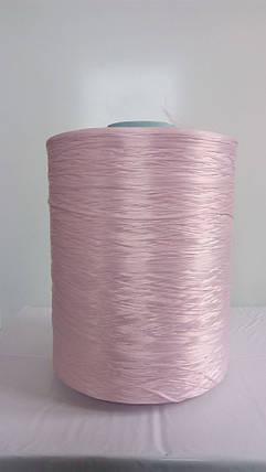 Нитки для оверлока ковролина бледно-розовый, фото 2