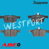 Тормозные колодки ABE Ford MONDEO Задние Дисковые Без датчика износа C2G021ABE