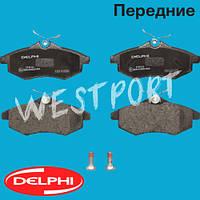 Тормозные колодки Delphi Citroen C2 Citroen C3 Передние Дисковые Без датчика износа LP1716