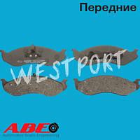 Тормозные колодки ABE Kia CARNIVAL Передние Дисковые Без датчика износа C1Y012ABE