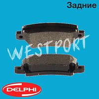 Тормозные колодки Delphi Toyota COROLLA Задние Дисковые Под датчик износа LP1864