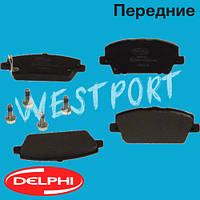 Тормозные колодки Delphi Honda CIVIC Передние Дисковые Под датчик износа LP1970