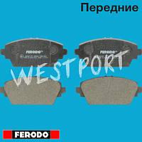 Тормозные колодки Ferodo Nissan PRIMERA Nissan ALMERA Передние Дисковые Без датчика износа FDB1580