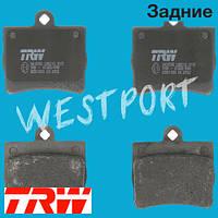 Тормозные колодки TRW Mercedes C-CLASS Задние Дисковые Без датчика износа GDB1283