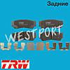 Тормозные колодки TRW Hyundai SANTA FE Hyundai H-1 Задние Дисковые Со звуком износа GDB3419