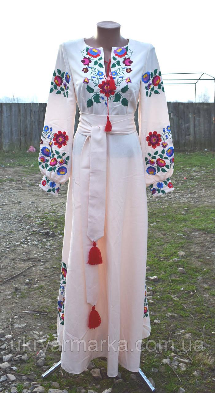 """Вишите плаття  """"Квіткова долина"""""""