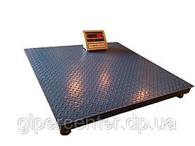 Весы платформенные ВПЕ-Центровес-1212-1 НПВ=1000 кг промышленные