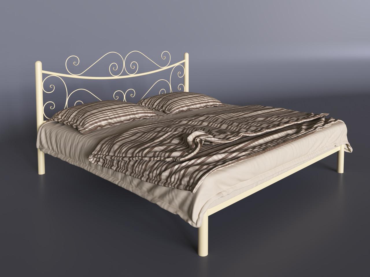 Двуспальная кровать Tenero Азалия металлическая