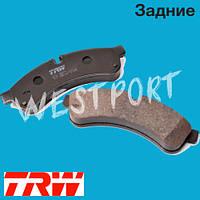 Тормозные колодки TRW Задние Дисковые Под датчик износа GDB1780